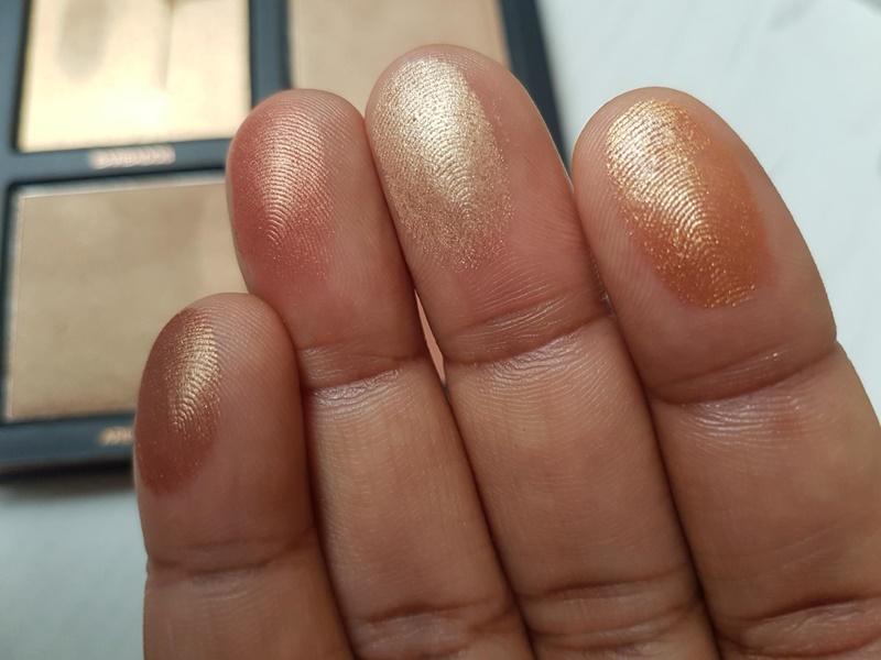 3D Highlighter Palette - Bronze Sands by Huda Beauty #7